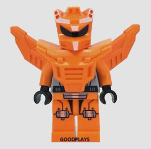 Lego Galaxy Squad alien Orange Robot Sidekick Minifigure 70705 new minifig