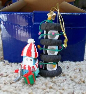 GUIDO from CARS Disney Pixar Presidents Edition Grolier Ornament Box