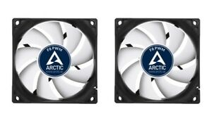 2-x-Arctic-Cooling-F8-PWM-80mm-Case-Fan-upto-2050-RPM-AFACO-080P2-GBA01