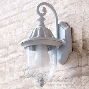 Details Zu 6w Led Wand Außenleuchte Weiß Wandlampe Wandleuchte Außen Hoflampe Lampe Leuchte