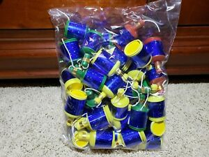 Blue-Holographic-Party-Poppers-Bag-of-50-Streamers-Wedding-Bridal-Birthday-Party