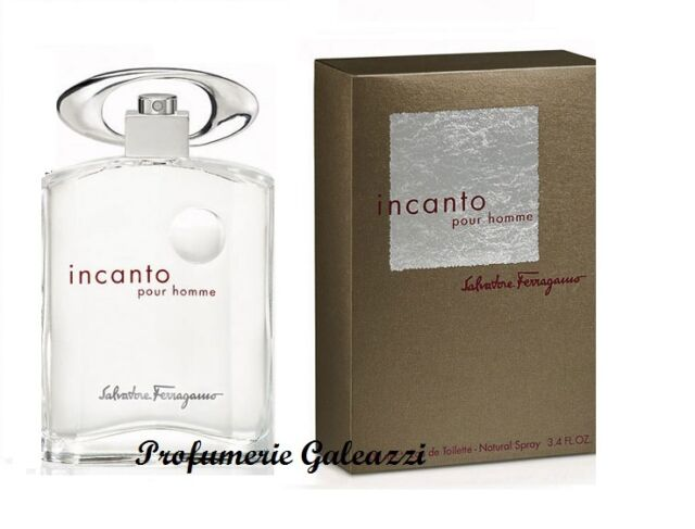 SALVATORE FERRAGAMO INCANTO POUR HOMME EDT NATURAL SPRAY - 50 ml