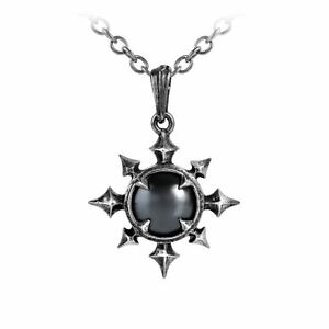 Alchemy gothic chaosium chaos star hematine cabochon pewter pendant image is loading alchemy gothic chaosium chaos star hematine cabochon pewter aloadofball Gallery