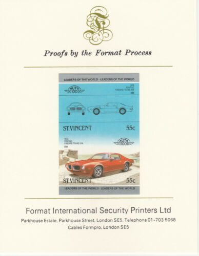 Sy Vincent (2106) - 1985 CARS #3 Pontiac imperf on Format Int PROOF CARD