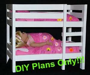 Make A Doll Bunk Bed Designed For 18 Dolls American Girl Maplelea