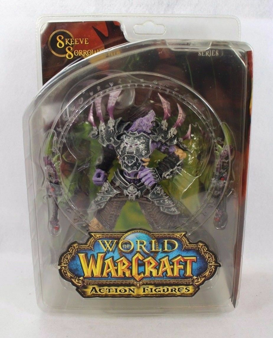 World of Warcraft découpement Sorrowblade Action Figure Series 3 - 100% Authentique-UK