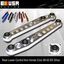 EMUSA 1996 1997 1998 1999 2000 Honda Civic EK Rear Lower Control Arm SILVER
