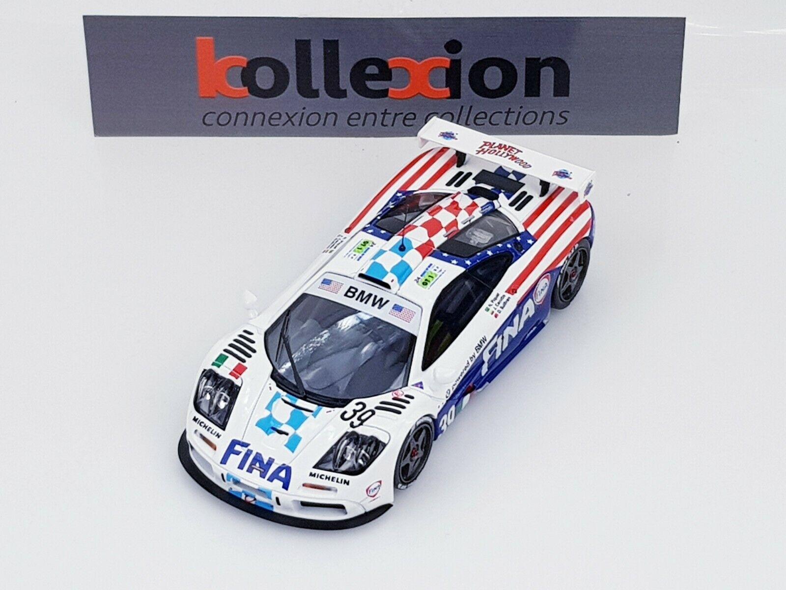 HPI 8265 MCLAREN F1  GTR n°39 Le Mans 1996 Piquet - Cecotto - Sullivan 1.43 NB  protection après-vente