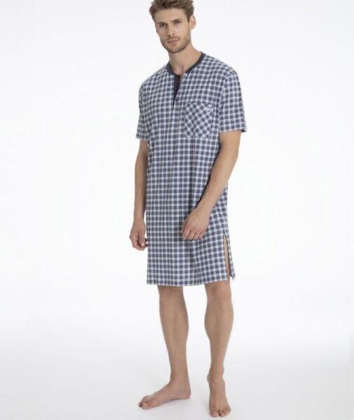 Da Uomo Pigiama Set Maglia Pantaloncini Tee Girocollo Tasca Lounge Sleepwear M a XXL