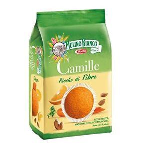 Mulino Bianco Camille Kuchen Mit Karotten Mandeln Und Orange Kekse