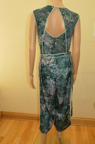 Neuf Prochain Vert Rose Blanc Violet à motifs Culottes Combinaison Tailles UK 10 12 18 22