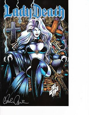 PAUL GREEN BRIAN PULIDO Coffin NM LADY DEATH APOCALYPTIC ABYSS #2 Premium Foil