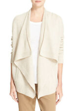 047add9bb6a14 item 1 NEW $345 Vince Chalet Beige Drape Front Wool & Cashmere Cardigan  Sweater Size M -NEW $345 Vince Chalet Beige Drape Front Wool & Cashmere  Cardigan ...