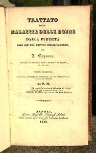 1838-TRATTATO-DELLE-MALATTIE-DELLE-DONNE-J-CAPURON-1-ED-ITALIANA-GINECOLOGIA
