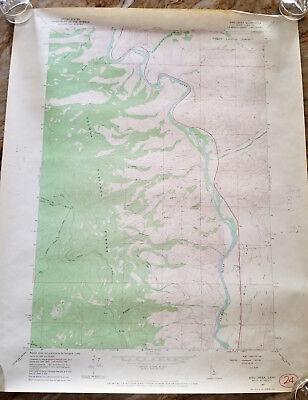 """Quad~Topo~Mining ~ 24/""""x18/"""" 1898 USGS Telluride CO"""