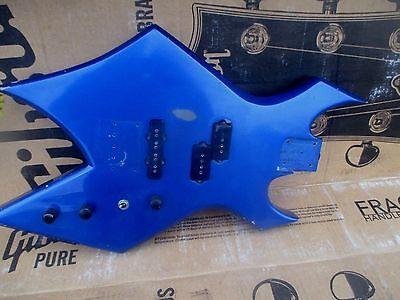 80's Bc Rich Warlock Bass Body - Made In Usa