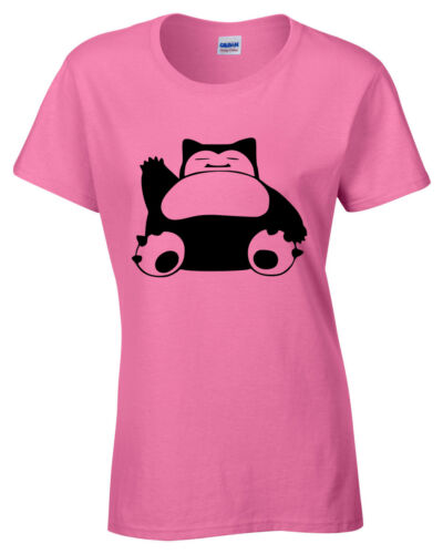 Snorlax Womens T-Shirt funny top gift tee Ladies