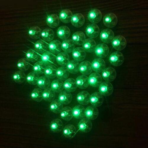 10pc Battery Power Mini LED Light Ball Glowing Light Party Bag Filler Kid Toys