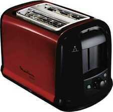Artikelbild Moulinex LT261D 2-Scheiben-Toaster 850 Watt Metallicrot Schwarz