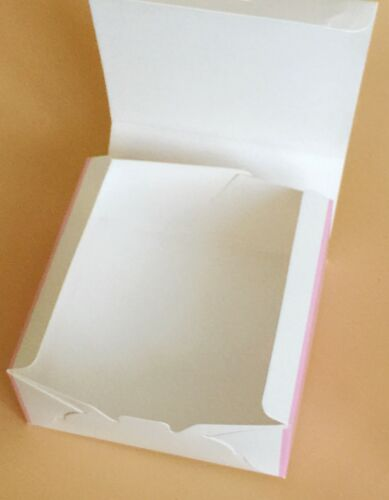 Bakery Box  for Cupcake Cookie Party GiftMulti-color Floralpack of 12