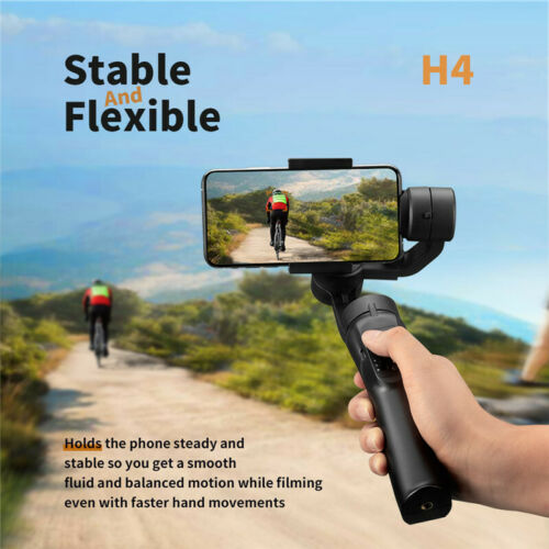 Android Smart Phone Smooth H4 Handheld 3-Axis Gimbal Stabilizer For IOS