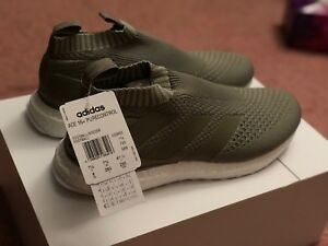 Adidas Ace 16+ Purecontrol Ultra Boost Clay Olive CG3655 Sz 8 IN ... f1727692f0638