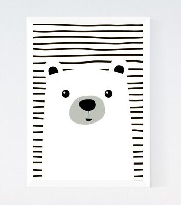 Modern Nursery Kids Room Print Wall