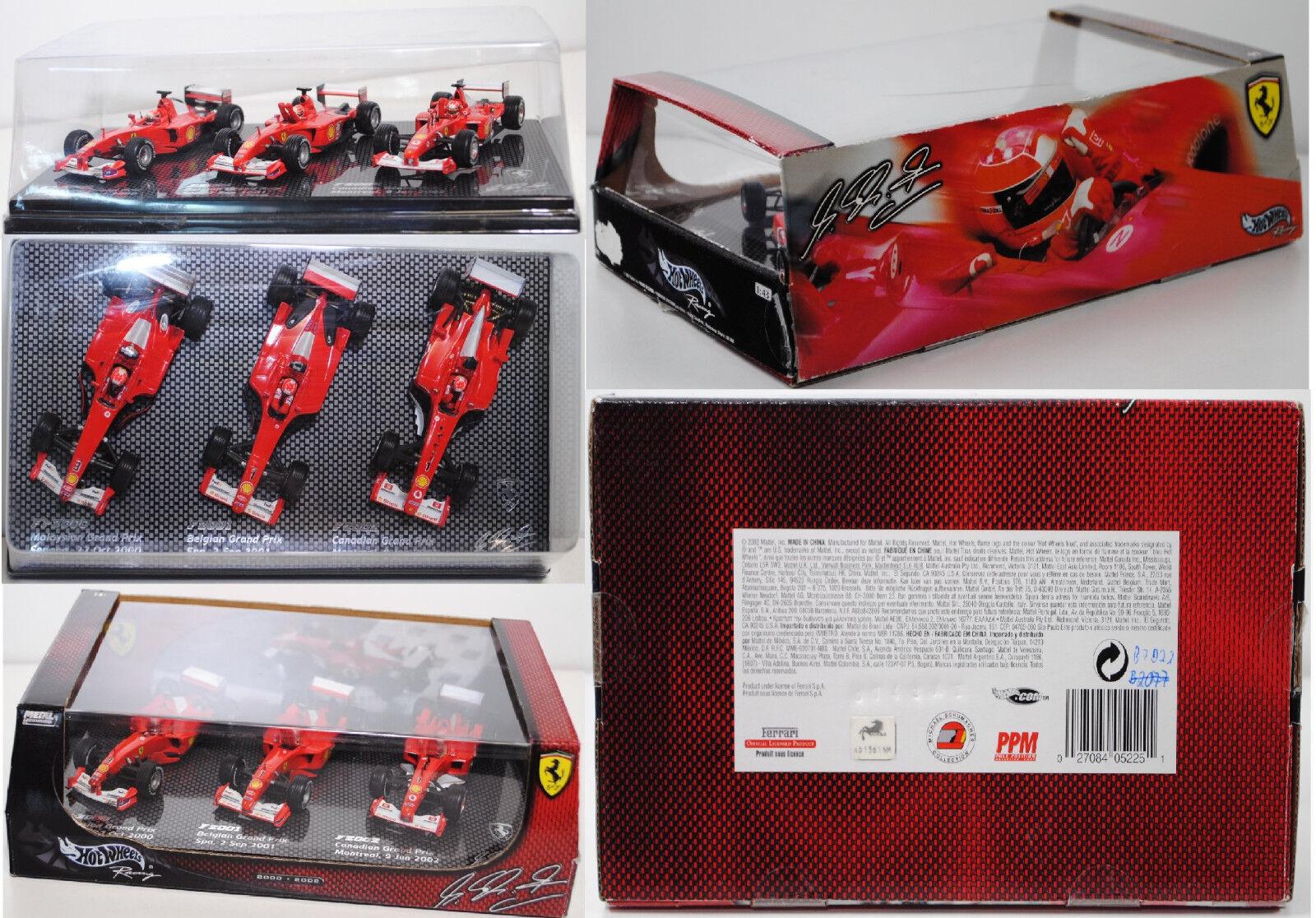 Hot Wheels b7022 ferrari fórmula 1 set, embalaje original