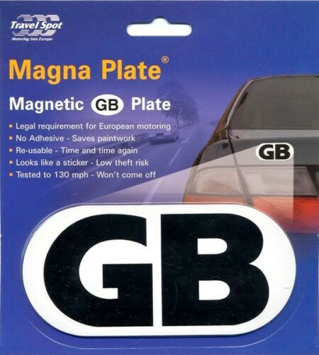 Magnetic Car GB Badge Tested to 130 MPH GBS