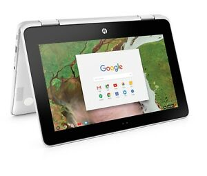 """Hp Chromebook X360 2-dans - 1 11.6"""" Touchscreen 4 Go 64 Go Ordinateur Portable Tablette 11-ae051wm-afficher Le Titre D'origine"""