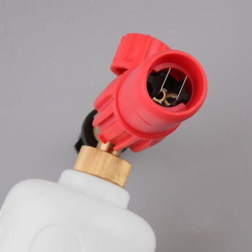 1L Pro Schaumlanze Hochdruck Schaumkanone Düse Injektor Foam Lance