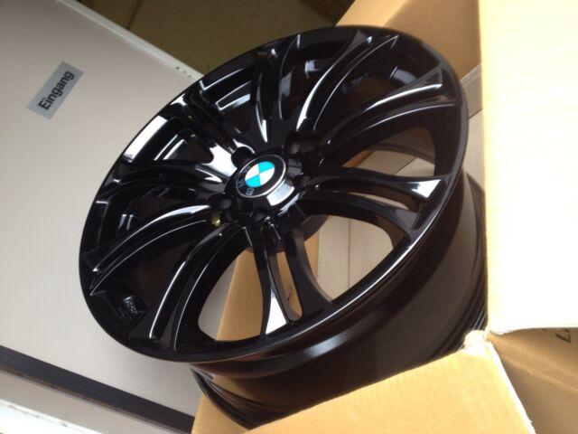 18 Inch Wh23 Spoke Alloys Black Concave 8,5x18 Et42 5x120 BMW E46 E87 M3