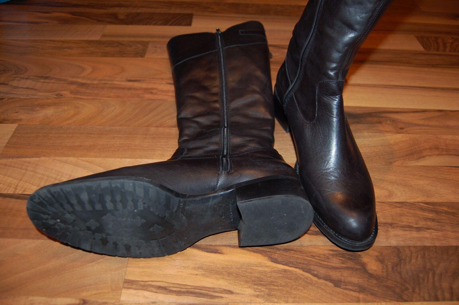 Seva - - Stiefel - Echtleder - Seva schwarz - Gr. 41 c65249