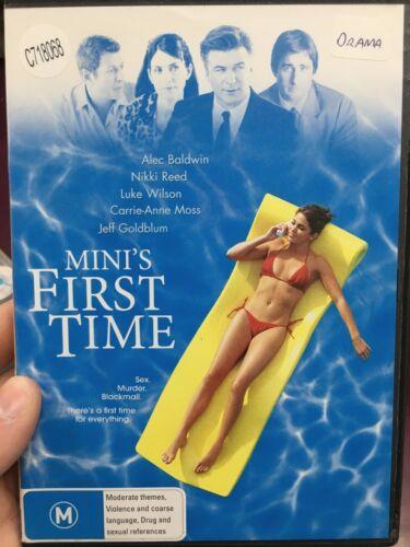 1 of 1 - Mini's First Time ex-rental region 4 DVD (2006 Alec Baldwin comedy drama movie)