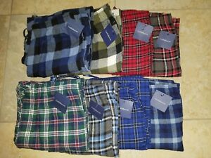 Croft/&Barrow Men/'s Polyester Sleep//Lounge Pants Size L  New With Tags