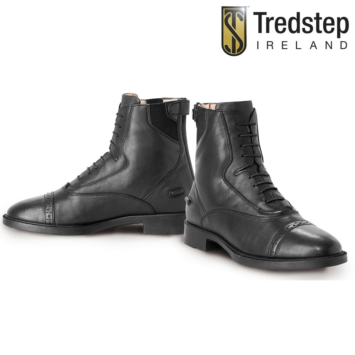 Trotstep Giotto Lace Rear Zip Stiefel
