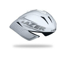 Lazer Tardiz Time Trial Aero Cycling Helmet - White - Large