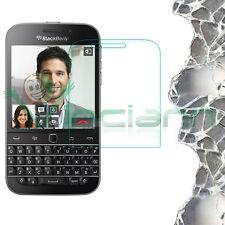 Pellicola VETRO trasparente display pr Blackberry Q20 Classic protezione schermo