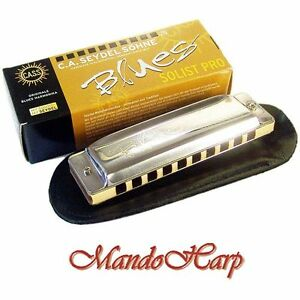 Seydel-Harmonica-11301-Blues-Solist-Pro-SELECT-KEY-NEW