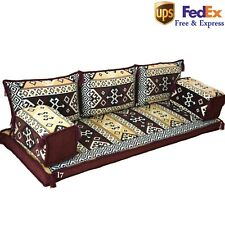 Pillow Indoor//Outdoor Islam Arabic Indian Turkish Pakistan Square Seat Cushion,Perect for Sofa and Couch Seat 13.78 X 14.96