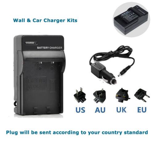 CGA-S008E Battery Charger Panasonic DMW-BCE10E //DB70 Lumix DMC-FX33 FX55 FX36