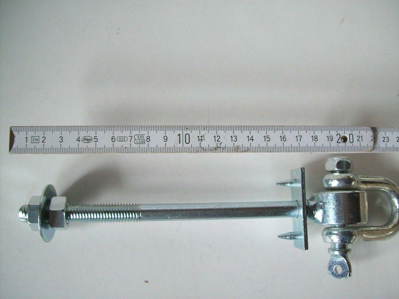Schaukelhaken Schaukel 170 170 170 mm M12 Haken Sicherheitsschaukelhaken 160 verzinkt 17 916b4f