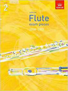 Selected-Flute-Exam-Pieces-2008-2013-Grade-2-without-CD-New-ABRSM-Book
