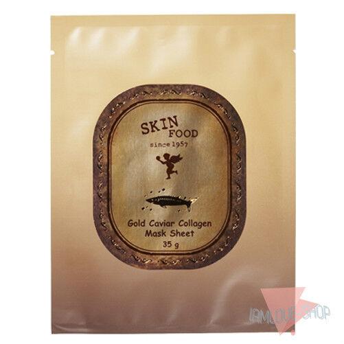 [SKINFOOD] Gold Caviar Collagen Mask Sheet 35g* 5 sheets