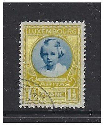 Sg 284 Ruf Zuerst 1928 Gut Luxembourg F/u 1 1/2f+50c Kinderwohlfahrt Stamp
