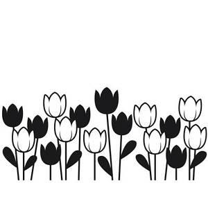 Image Is Loading Darice Embossing Folder SPRING TULIPS Garden Flower Border