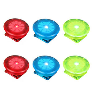 NEW LED Light Clip On for Safety Night Cycling Running Jogging Dogs Bike Lamp UK