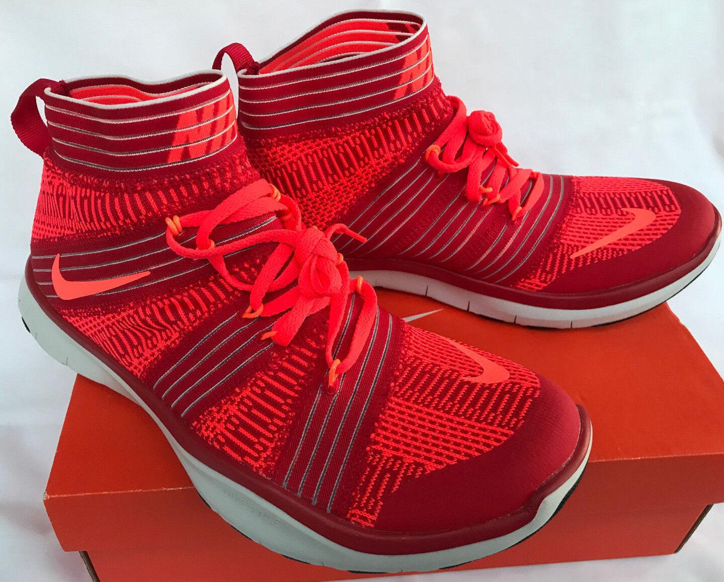 new Nike Free Train Virtue 898052-600 Red 5K Shoes Marathon Running Shoes 5K Men's 10.5 b1113b