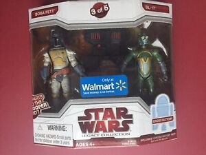 Star Wars Legacy Collection - Figurine d'action Boba Fett & Bl-17 Walmart - Pointe n ° 3/5