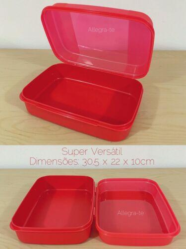 Bombonette Big Red Tupperware